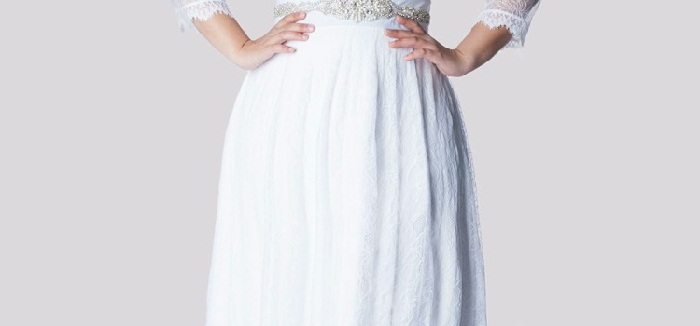 Ideas Of Choosing Colors Of Plus Size Wedding Dresses